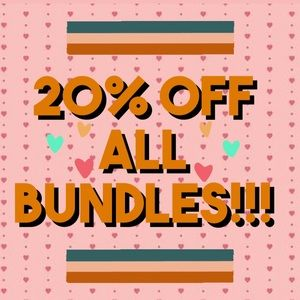 Bundle items for a GREAT discount💕